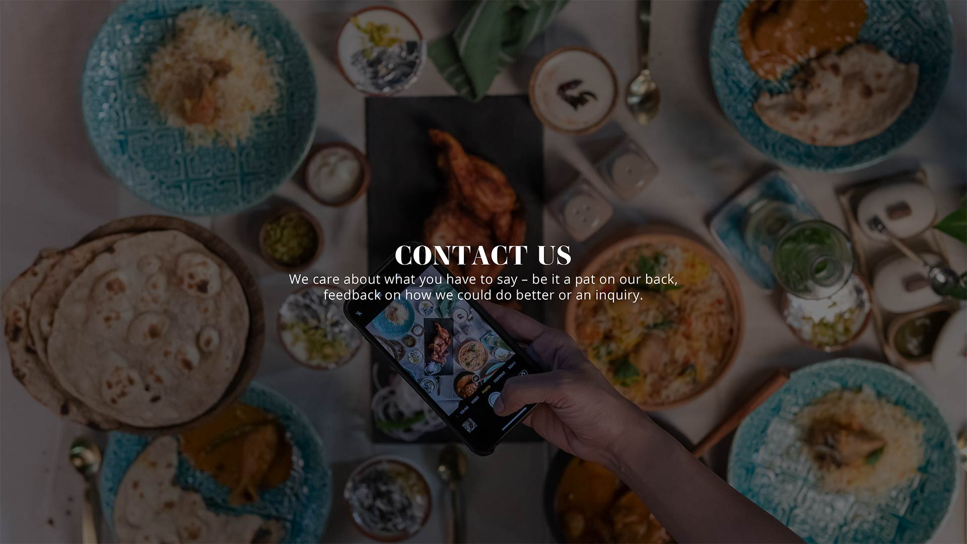 Contact Biryani Central